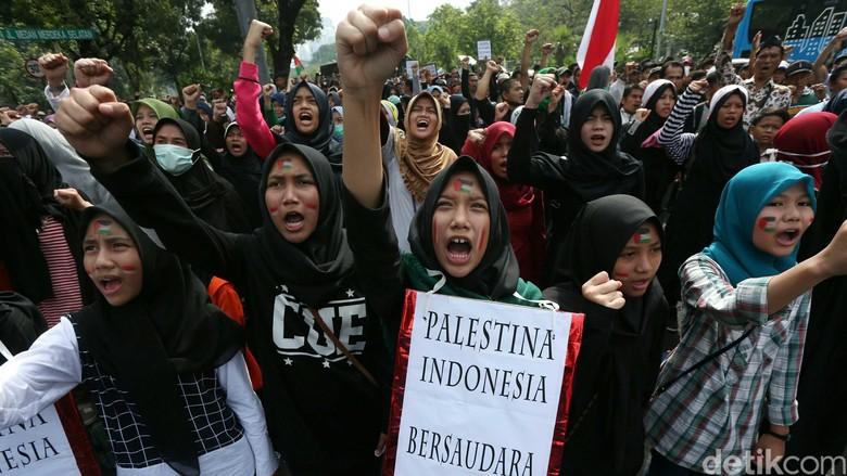 Aksi Peringati Hari Internasional Al-Quds