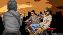 Driver Online Jakarta Ditodong Pria Berpistol di Bandung