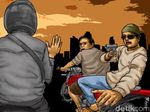 Begal Truk di OKU Timur Sumsel Tewas Saat Baku Tembak dengan Polisi