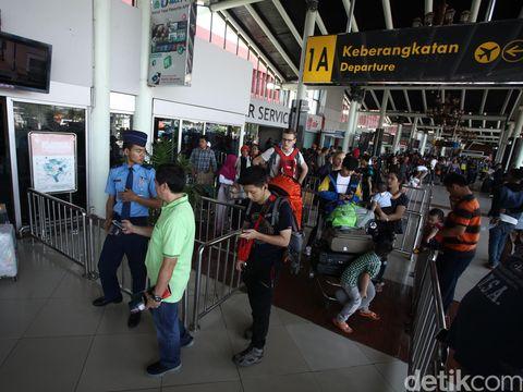 Terminal maskapai di bandara Soekarno Hatta