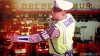 Jalur Tikus Keluar Jakarta pun Disekat Antisipasi Pemudik Nekat