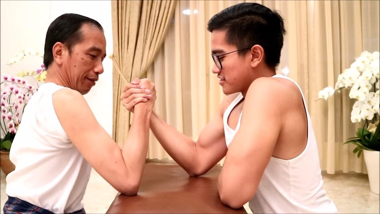Pesan Moral Jokowi di Balik Video Adu Panco dengan Kaesang