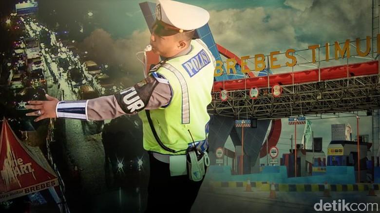 Ini Rekayasa Polisi Atasi Kemacetan di Tol Saat Mudik Lebaran