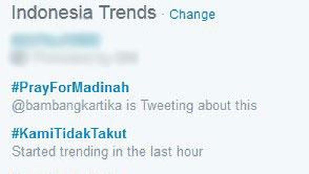 #PrayForMadinah Puncaki Twitter