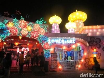 9 Wahana di Batu Night Spectacular, Cocok untuk Liburan Tengah Tahun