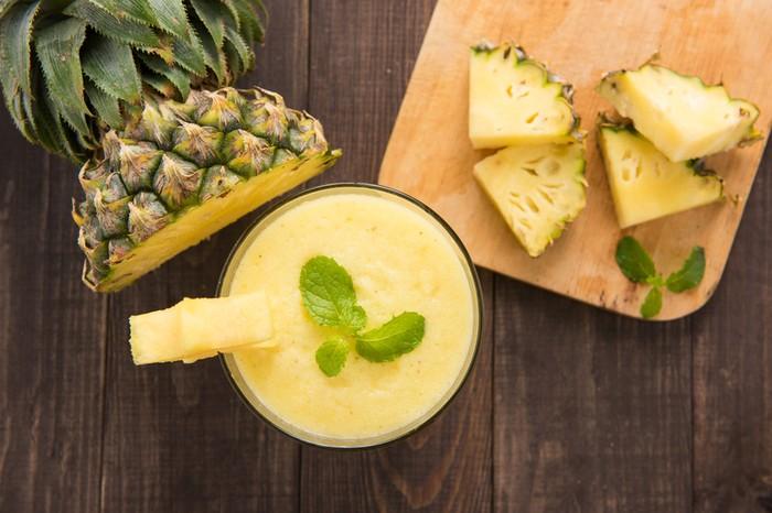 Manfaat buah nanas bagi tubuh. Foto: iStock