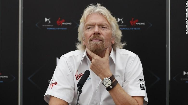 Pemilik Virgin Group nan nyentrik, Richard Branson (CNN)