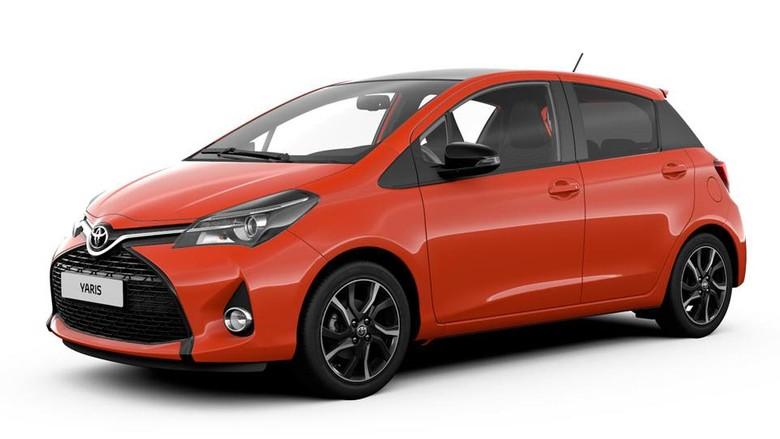 Rayakan Produksi Ke 3 Juta Toyota Rilis Yaris Orange Edition