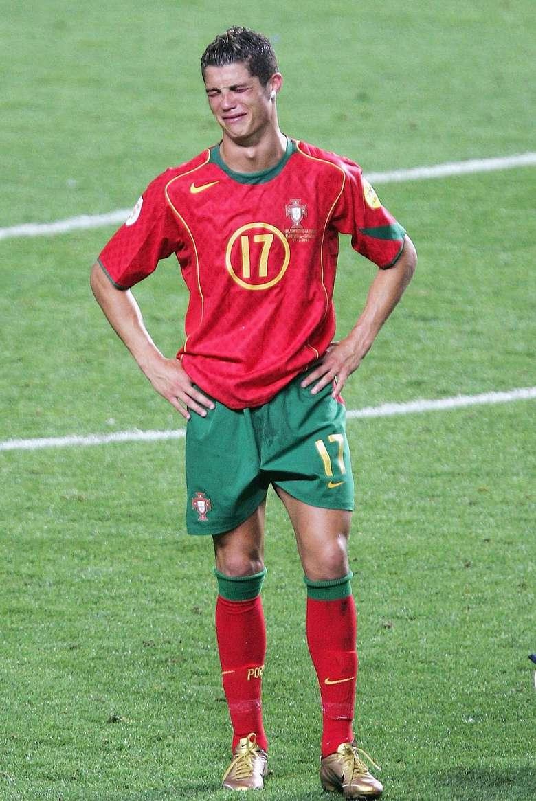 Ronaldo dikenal punya disiplin tinggi saat berlatih. Foto: Getty Images/Laurence Griffiths
