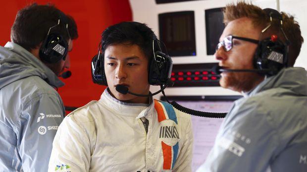 Rio Haryanto jadi motivasi Luis Leeds untuik bisa tampil di F1.
