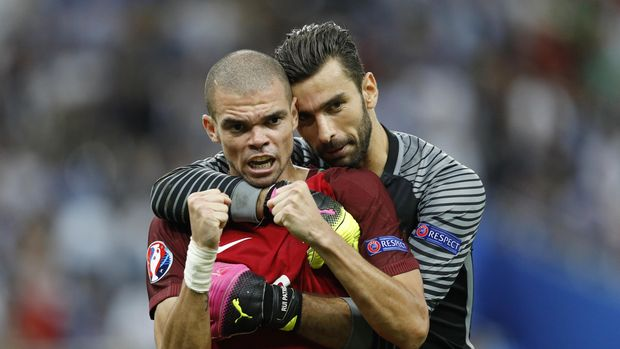Pepe dan Rui Patricio menjadi dua pemain yang akan mengawal lini belakang Timnas Portugal di Piala Dunia 2018.