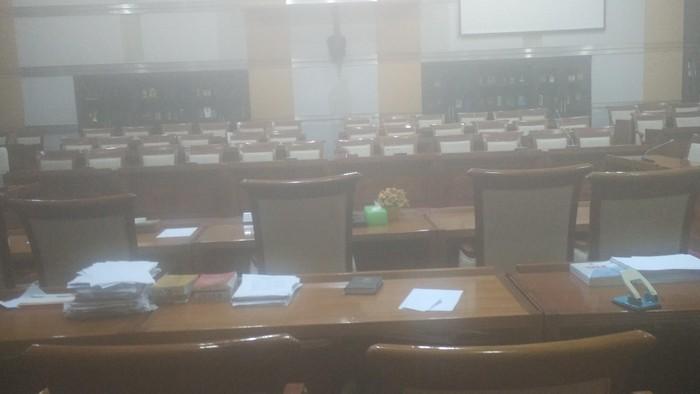 Foto: Suasana di Gedung DPR (Wisnu/detikcom)