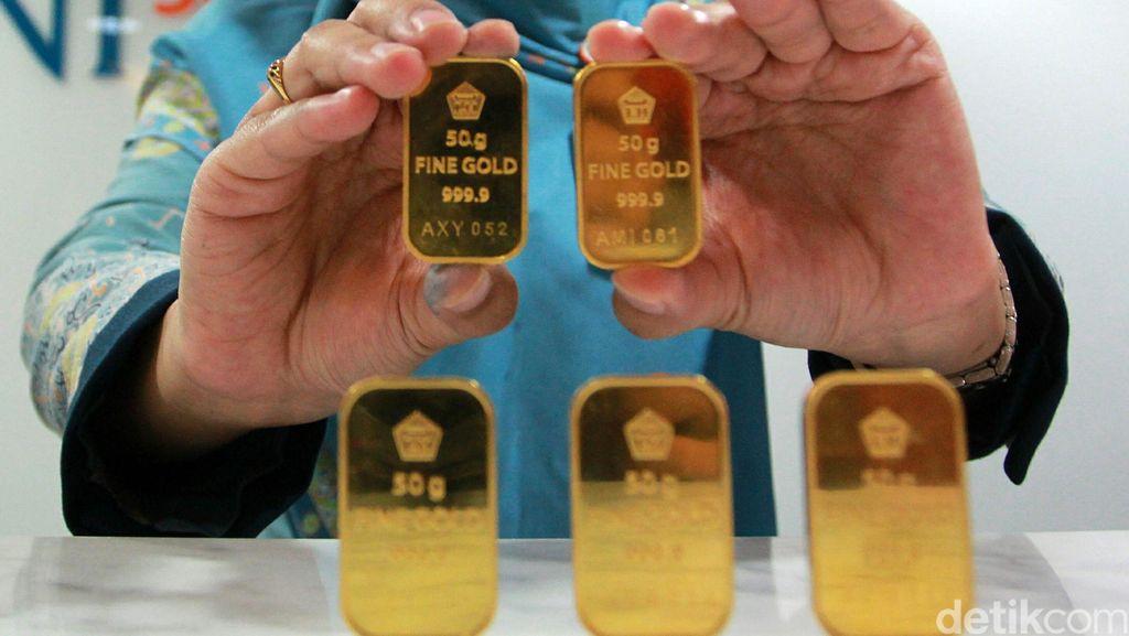 Emas Antam Hari Ini Dijual Rp 644.000/Gram