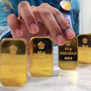 Emas Antam Dijual Rp 677.000/Gram