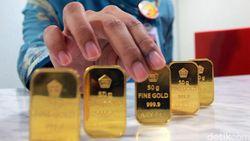Harga Emas Antam Turun Jadi Rp 675.000/Gram