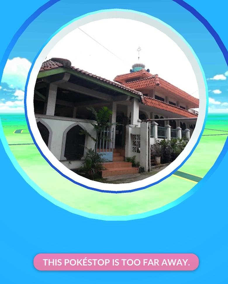 Masjid Jadi Tempat Pokestop Game Pokemon GO, Begini Pandangan MUI