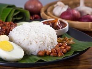 Ini Dia Kedai Nasi Lemak Termurah di Malaysia, Seporsi Cuma Rp 2.400!