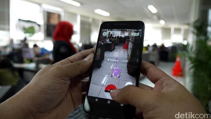 Ilustrasi Pokemon Go Foto: detikINET - Anggoro Suryo Jati