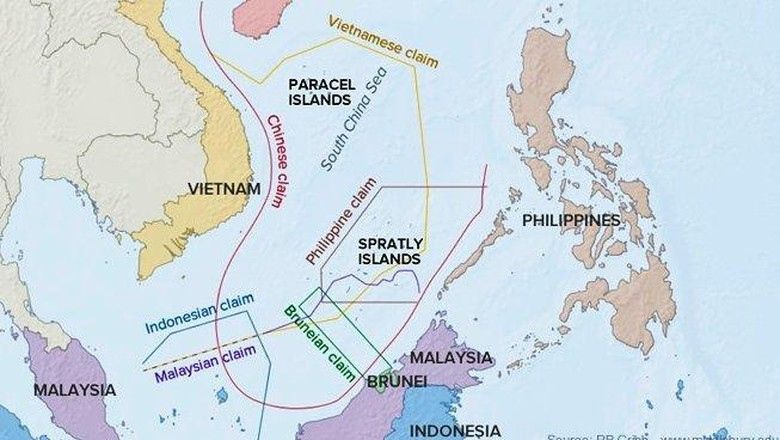 Kultur Strategis China di Laut China Selatan