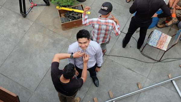 Yuk, Intip Proses Syuting Film Sabtu Bersama Bapak