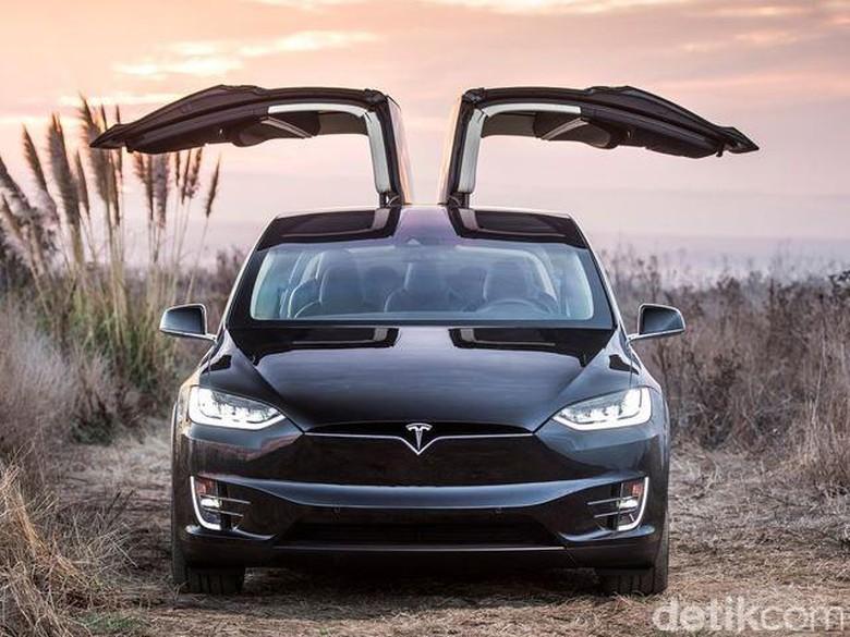 Berapa Harga Suv Listrik Tesla Model X Di Indonesia
