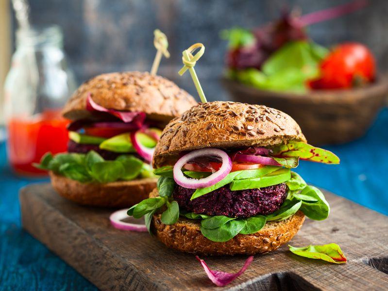 burger sehat
