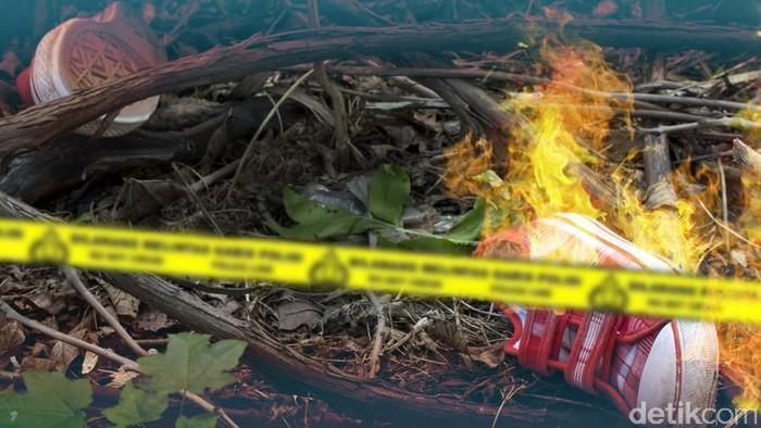 Ilustrasi Pembunuhan Anak Dibakar
