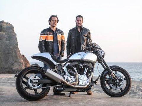 Arch Motorcycles motor buatan Keanu Reeves