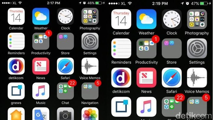 Foto: Screenshot iPhone (Adi Fida Rahman/detikINET)