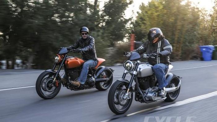 Keanu Reeves buat perusahaa sepeda motor Arch Motorcycle.