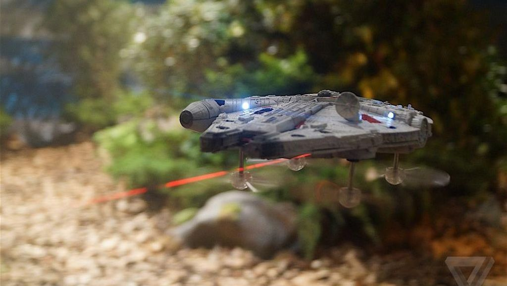 Keren! Drone Bertemakan Star Wars