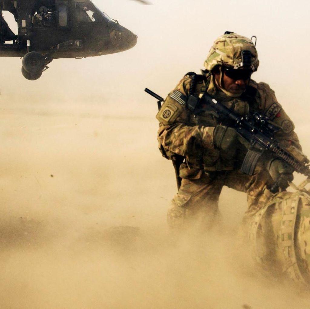 Helikopter Jatuh di Afghanistan, 2 Tentara AS Tewas