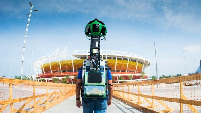 Google Street View Olimpiade Rio