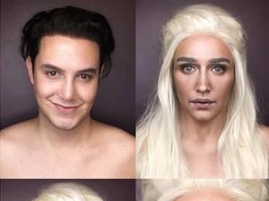 Lewat Makeup, Pria Ini Bisa Berubah Jadi Karakter Game of Thrones