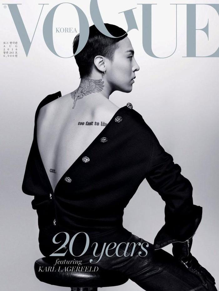 Foto: Dok. Vogue Korea / Karl Lagerfeld