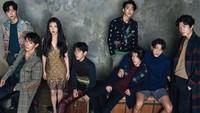 IU dan para pengeran ganteng di Scarlet Heart: Ryeo akan hadir di SBS Agustus. (Kim Yeong Jun/Cosmopolitan Korea)