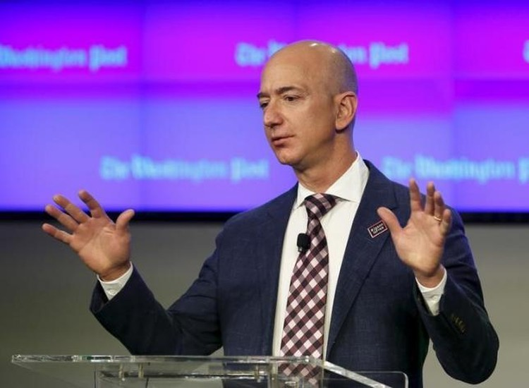 CEO Amazon Jeff Bezos