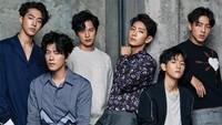 Dalam drama ini tampil juga Nam Joo Hyuk (Pangeran Wang Wook), Ji Soo (Pangeran Wang Jung) dan Yoon Sun Woo (Pangeran Wang Won). (Kim Yeong Jun/Cosmopolitan Korea)