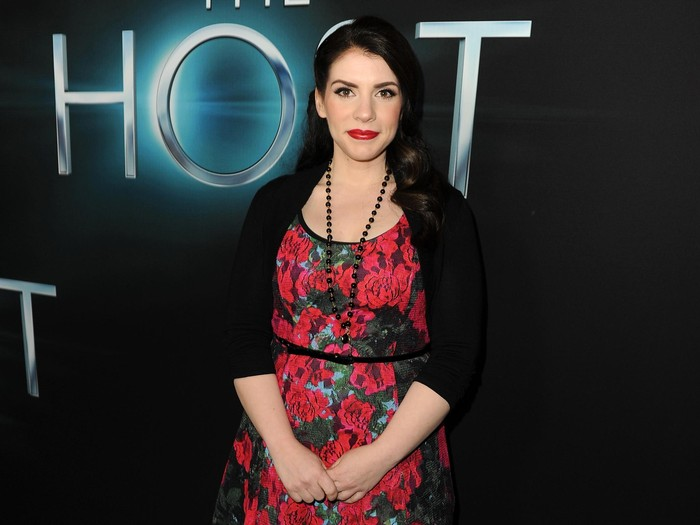 HOLLYWOOD, CA - MARCH 19:  Producer/ Novelist Stephenie Meyer attends the premiere of Open Road Films The Host at ArcLight Cinemas Cinerama Dome on March 19, 2013 in Hollywood, California.  (Photo by Kevin Winter/Getty Images)