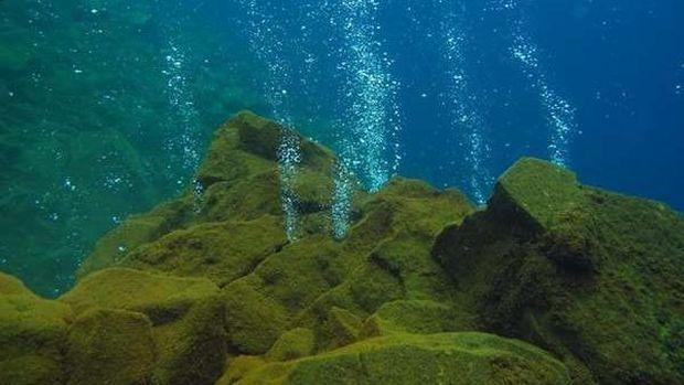 gunung bawah laut di Kepulauan Sangihe