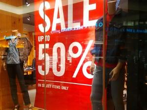 T-shirt Sampai Jeans Diskon di Levis Mall Taman Anggrek