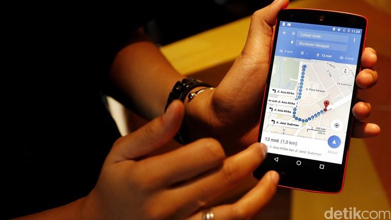 Ilustrasi GPS Foto: Rengga Sancaya