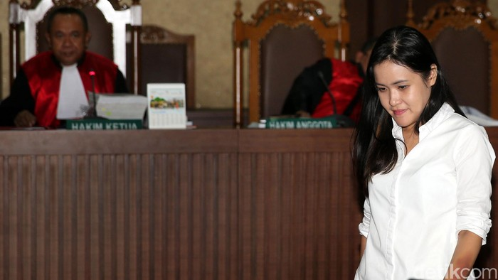 Jessica Kumala Wongso (Foto: Ari Saputra/detikcom)