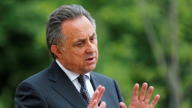 Mantan Presiden Federasi Sepakbola Rusia Vitaly Mutko yang disanksi seumur hidup akibat kasus doping.