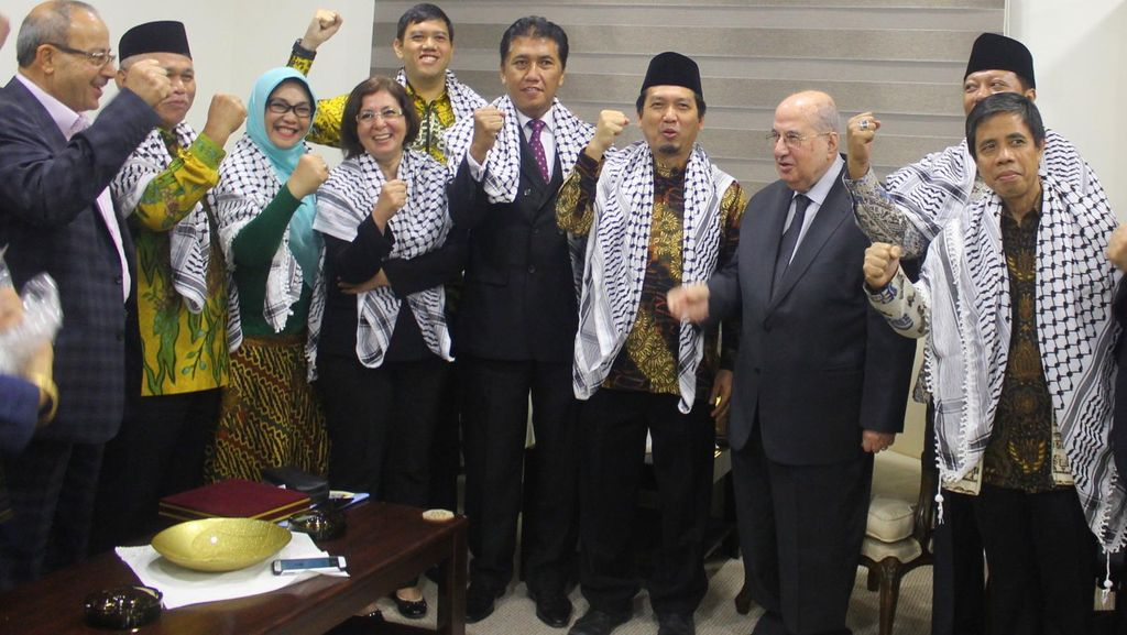 KBRI Amman: Rombongan DPR RI Tak Diizinkan Israel Masuk ke Palestina