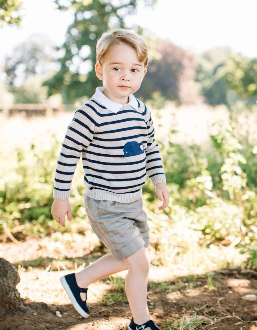 Selamat Ulang Tahun yang ke-3, Pangeran George!