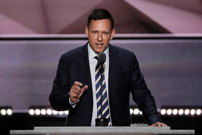 Peter Thiel. Foto: Getty Images
