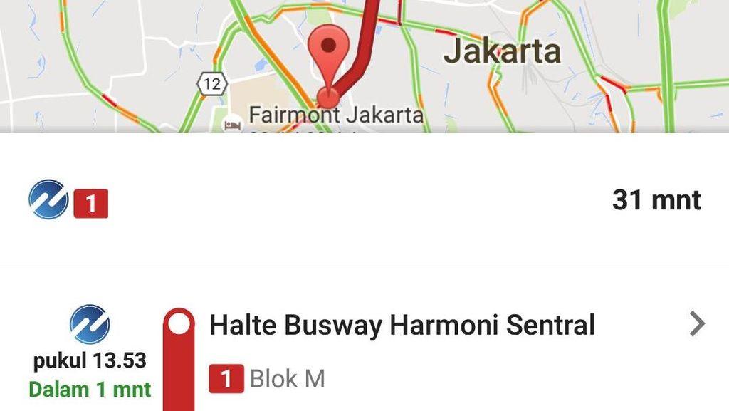 Jadwal TransJakarta Bisa Diintip Lewat Google Maps