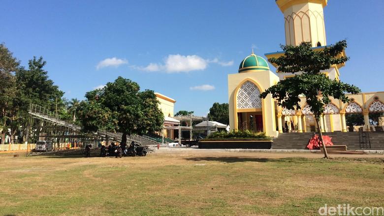 Ilustrasi Kota Mataram, Islamic Center NTB (Masaul/detikTravel)
