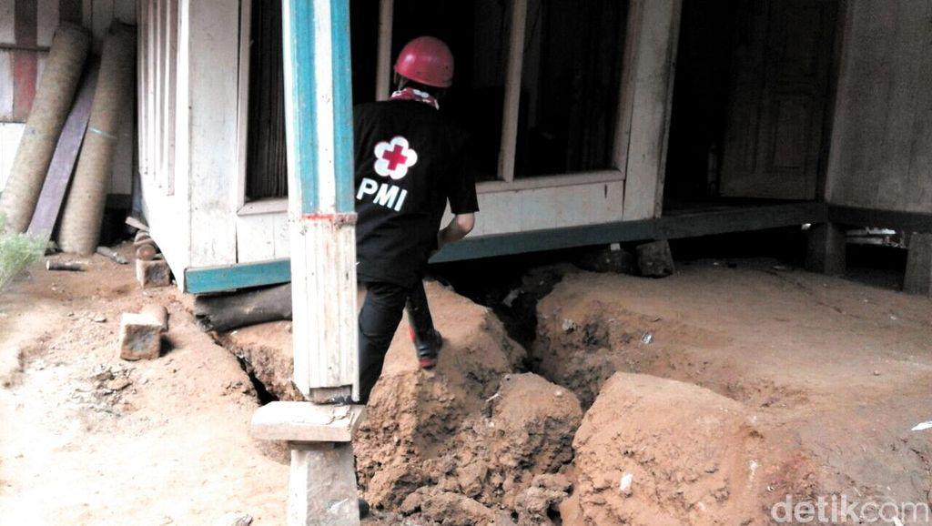 Bantuan Tunai Bencana Alam Ditransfer ke Rekening Korban